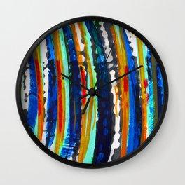 Tribal Stripes  Wall Clock