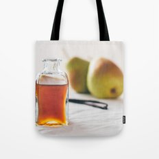 Pear and Vanilla Love Tote Bag