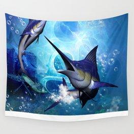 Marlin Wall Tapestry