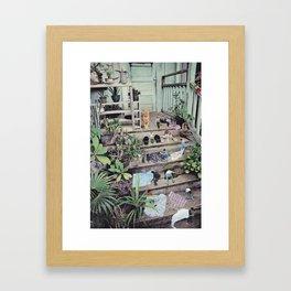 Big cat Framed Art Print