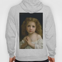"William-Adolphe Bouguereau ""Little Girl"" Hoody"