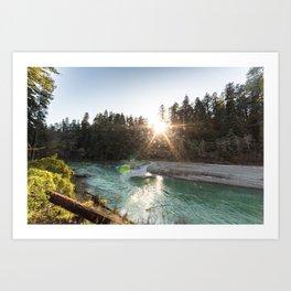Bull Creek Flats Art Print