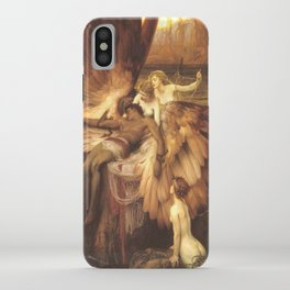 The Lament For Icarus By Herbert James Draper iPhone Case