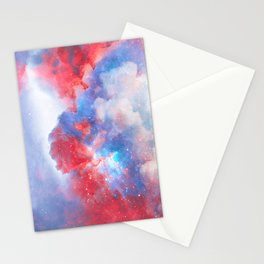 Stay with me between the Clouds and your Dreams Stationery Cards