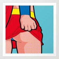 Superwhore Art Print