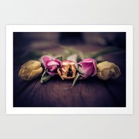 Tulips and Toning Art Print