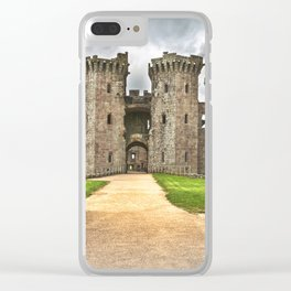 Gateway To The Castle Clear iPhone Case