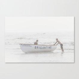 Brigantine Lifeboat Canvas Print