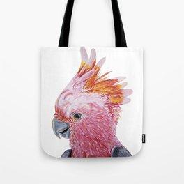Pink Galah Tote Bag