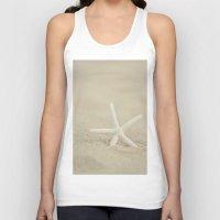 starfish Tank Tops featuring Starfish  by Laura Ruth