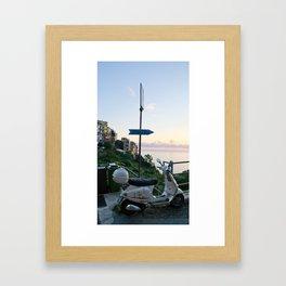 Italian Vespa Framed Art Print