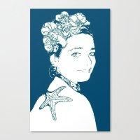 marianna Canvas Prints featuring Hermosa Marianna by Alef