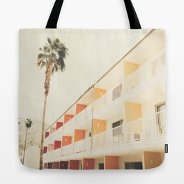 Palm Springs Hotel Tote Bag