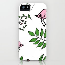 Funny Bird iPhone Case