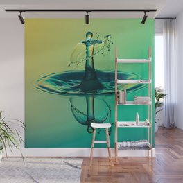 Water Drop Wall Mural