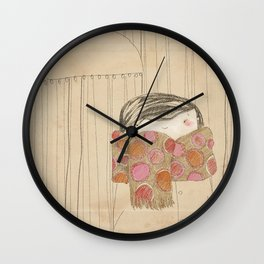 "Luisa. ""Bufandas"" Collection Wall Clock"