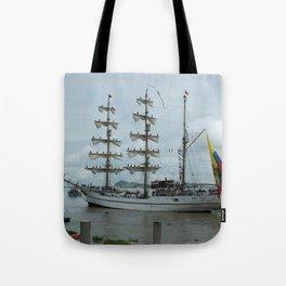 Guayas ship Tote Bag