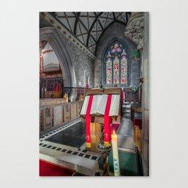 Sacred Texts Canvas Print