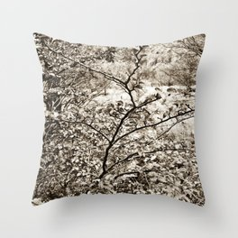 In nature. Throw Pillow