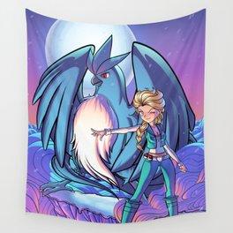 Elsa - Poke mon Trainer Wall Tapestry