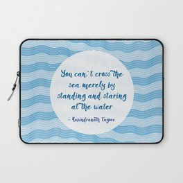 Tagore by the Sea Laptop Sleeve