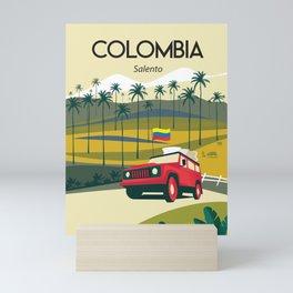 Colombia Salento Mini Art Print