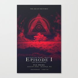 FTB Trials - Episode 1 Canvas Print