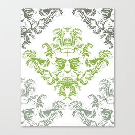 YODamask (Detail) Canvas Print