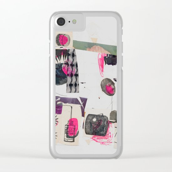 rebefo, teraf dan tweeneb Clear iPhone Case