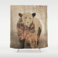 1989 Shower Curtains featuring Formosan Black Bear by Nirvana.K
