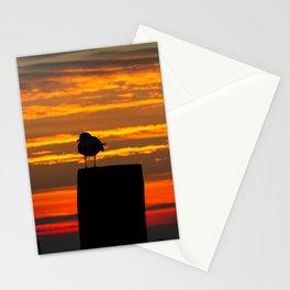 Gull at Sunrise Stationery Cards