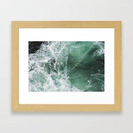 Turbulent Waters Framed Art Print
