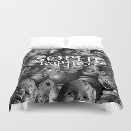 Creepy baby Duvet Cover