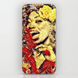 Ebony Joy iPhone Skin