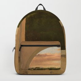 "Edgar Degas ""Paysage d'Italie vu par une lucarne"" Backpack"