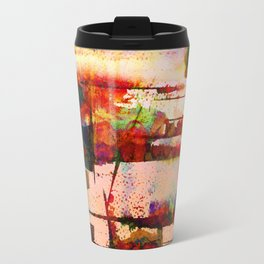 pink lake Travel Mug