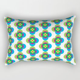 Absract flower Rectangular Pillow
