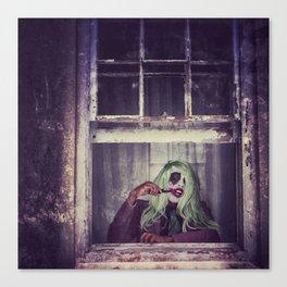 Joker Cosplay 6 Canvas Print