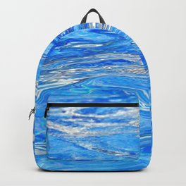 Ocean Waves in Mexico Backpack