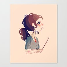 The Brightest Witch of Her Age Canvas Print