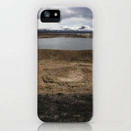 Iceland - Myvatn iPhone Case