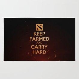 Keep Farmed & Carry Hard (DO-TA) Rug