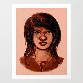 Untitled sketch Art Print