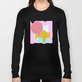 Summer Color Melt Long Sleeve T-shirt