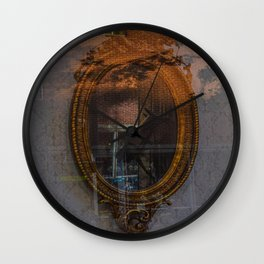 Simple Reflections Wall Clock