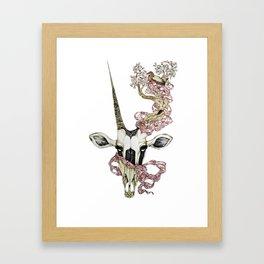 Oryx and Crake Framed Art Print