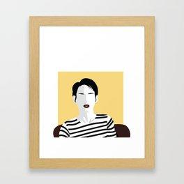 Minimal Cinema (Girl Interrupted) Framed Art Print