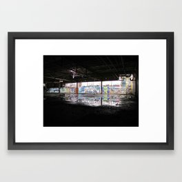 Downstairs Framed Art Print