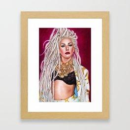 Mother Monster - Jingle Ball Framed Art Print