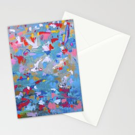 Flight of tomorrow Stationery Cards